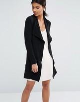 Vero Moda Drape Belted Coat