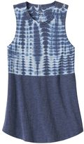 Mudd Girls 7-16 & Plus Size Patterned Graphic Tank Top