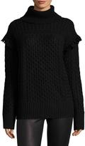 Rachel Zoe Women's Aribella Wool Cable Knit Sweater