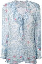 Dondup Bisa patterned top - women - Silk - 40