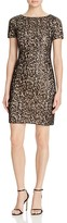 Aidan Mattox Sequin Lace Dress