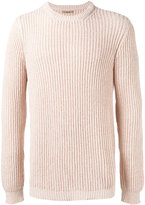 Nuur ribbed detail jumper - men - Cotton/Nylon - 50