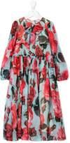 Dolce & Gabbana floral flared dress