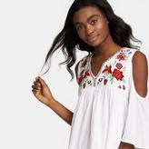 Romeo & Juliet Couture Woven Embroidered Dress