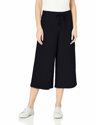 Daily Ritual Amazon Brand Women's Terry Cotton and Modal Culotte Pant