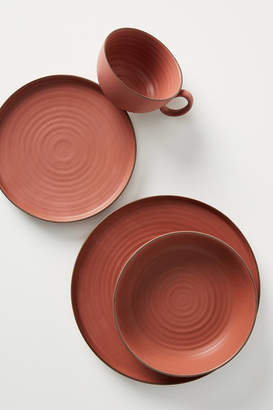 Anthropologie Gather By Ilana Matte Dinner Plates, Set of 4