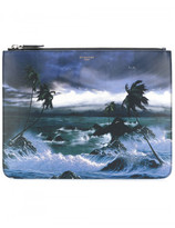 Givenchy 'Blue Hawaii' zipped pouch