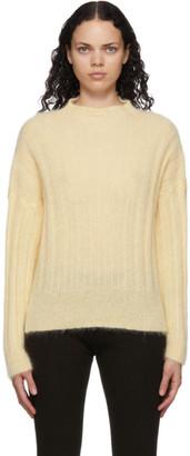 RUS Yellow Mohair Makura Sweater