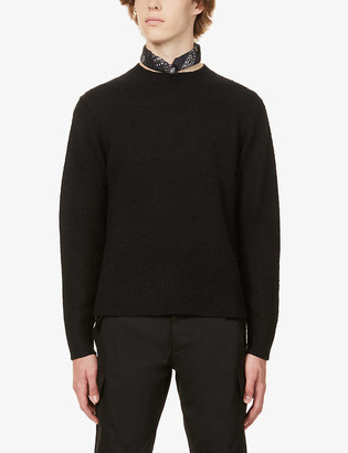 Acne Studios Peele wool and cashmere-blend jumper