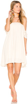 Blq Basiq Off Shoulder Baby Doll Dress