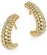Bloomingdale's 14K Yellow Gold Beaded J-Drop Earrings - 100% Exclusive