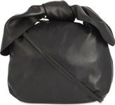 Simone Rocha Knotted small leather hobo bag