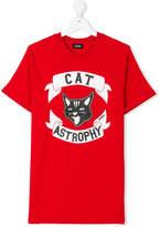Diesel Cat Astrophy print T-shirt