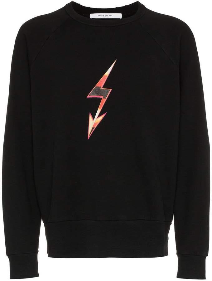 Givenchy World Tour print sweatshirt
