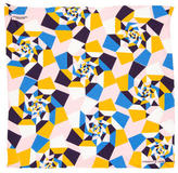 Turnbull & Asser Abstract Print Silk Pocket Square