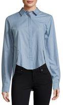 Style Stalker Confidence Chambray Hi-Lo Shirt