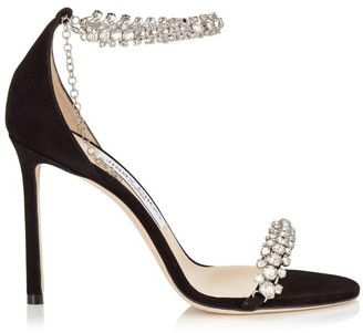 Jimmy Choo Shiloh 100 Leather Sandals