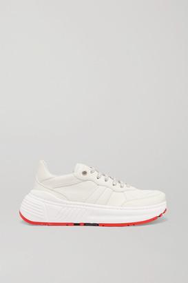 Bottega Veneta Speedster Leather Sneakers - White