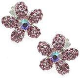 AJ Fashion Jewellery Musette Silver tone Clip On Earrings