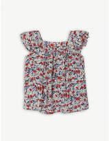 Ralph Lauren Floral-print smock top 2-4 years