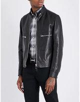 Tom Ford Pocket-detailed leather jacket