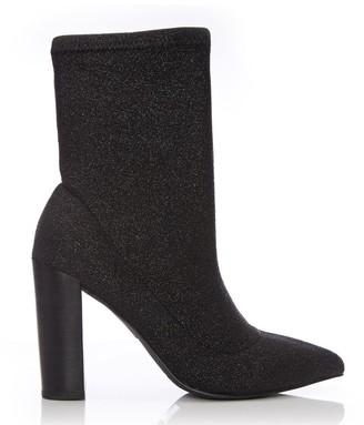 Moda In Pelle Losia Black Fabric