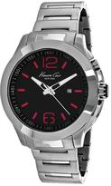 Kenneth Cole Classic 10022557 Men's Round Silver Stainless Steel Watch
