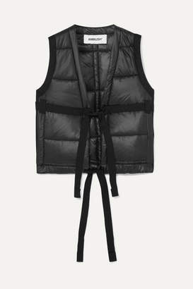 Ambush Padded Shell Vest - Black