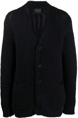 Roberto Collina V-neck chunky knit cardigan