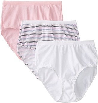 Fruit of the Loom Women's Cotton Assorted Brief Panty