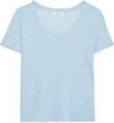 Velvet by Graham & Spencer Slub linen T-shirt