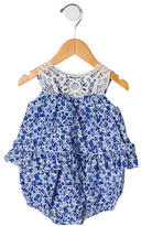 Ralph Lauren Girls' Floral Sleeveless Bodysuit