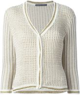 Alberta Ferretti three-quarter sleeve cardigan - women - Cotton/Polyester/Rayon - 42
