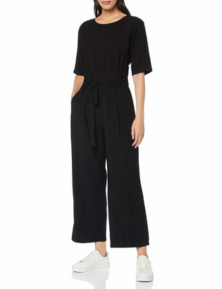 Meraki Amazon Brand Women's Short Sleeve Jumpsuit