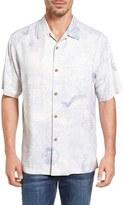 Tommy Bahama Grape Minds Think Alike Original Fit Print Camp Shirt