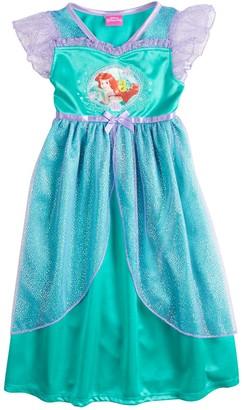 Disney Disney's Ariel Toddler Girls Fantasy Gown Dress Nightgown