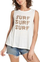 Roxy Women's Surf Graphic Muscle Tank