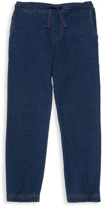 The Bonnie Mob Little Boy's Embroidered Cotton Joggers