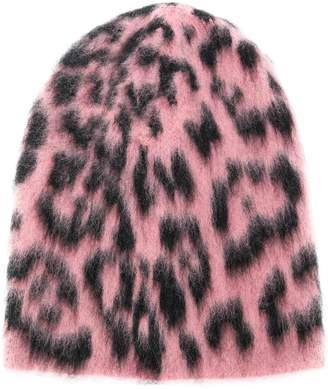 Laneus animal pattern beanie