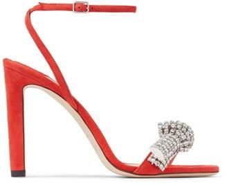 Jimmy Choo Embellished Thyra 100 Sandals