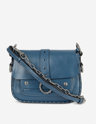 Zadig & Voltaire Kate studded leather cross-body bag