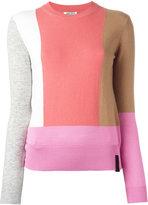 Kenzo colour block jumper - women - Cotton/Cashmere/Wool - XS