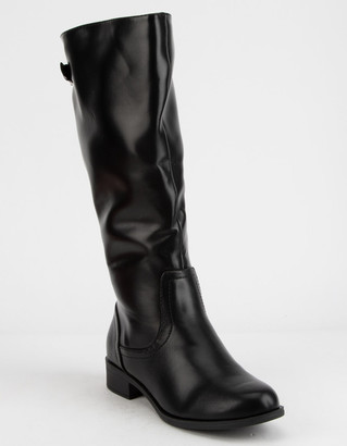 Soda Sunglasses Court Womens Riding Boots