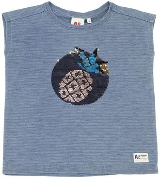 Embellished Cotton Jersey T-Shirt