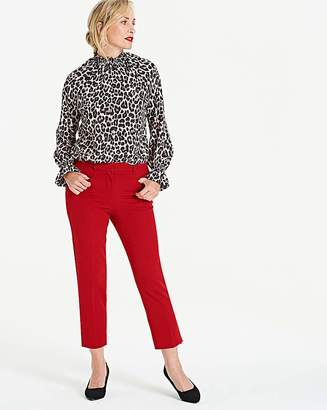 Capsule Deep Red Meghan Cigarette Trousers