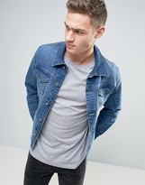 Esprit Mid Wash Classic Denim Jacket