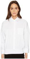 Neil Barrett Oversized Button Up Women's Long Sleeve Button Up