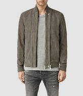AllSaints Kurne Leather Bomber