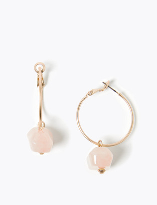 Marks and Spencer Hanging Stone Hoop Earrings