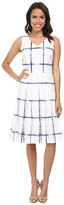 Pendleton Pleat Print Dress